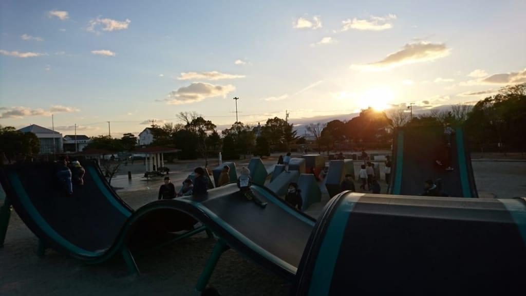 こども版SASUKEが楽しめる公園(海南こどもの国)