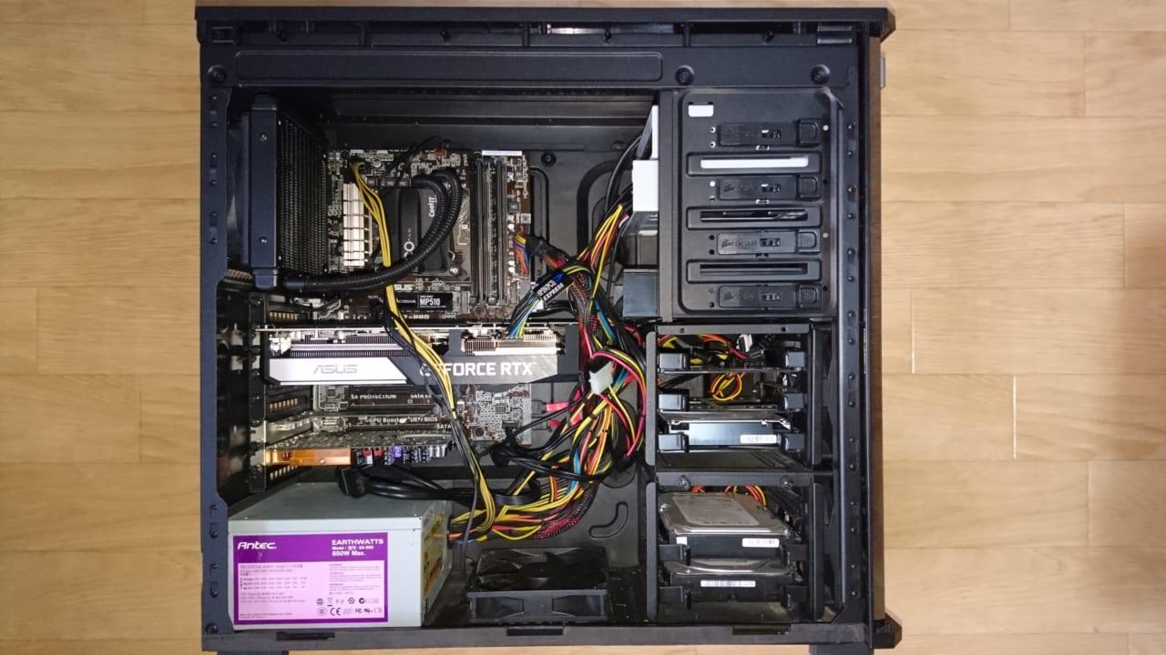 古いパソコンに最新グラボ載せて5.6K高解像360度動画の編集に挑む